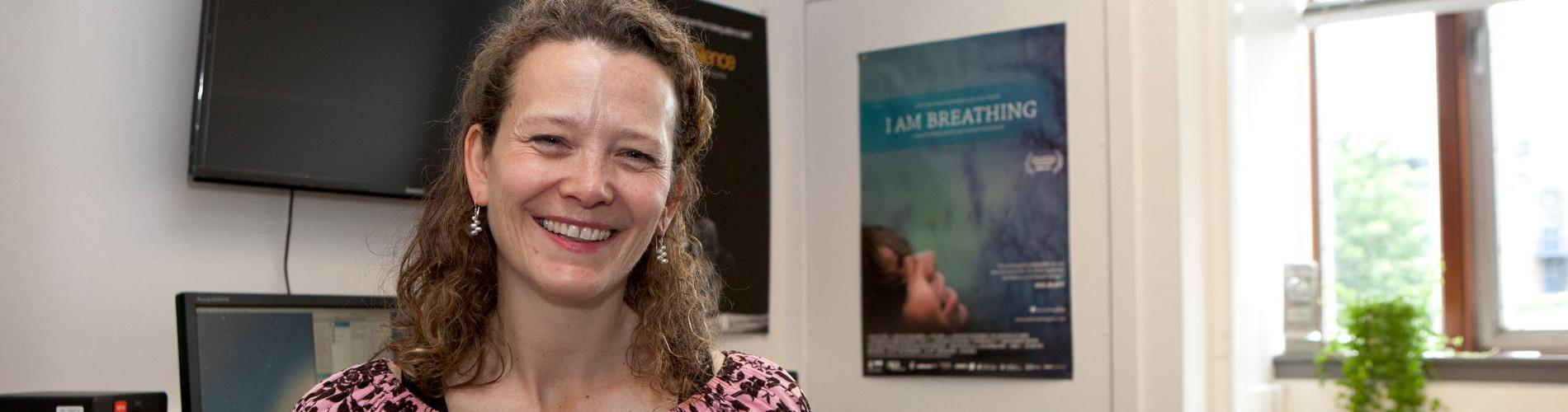 Emma Davie, co-director of the documentary I Am Breathing.