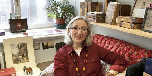 Professor Stana Nenadic researches the history of the Scottish textile industry.